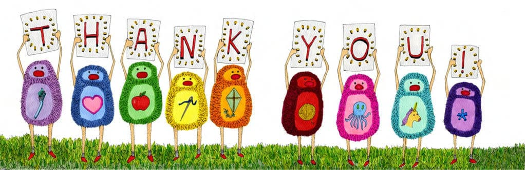 GIVEAWAY: An Awesome Book of Thanks!   Pretty Prudent