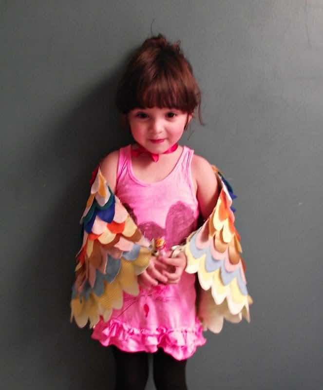 How to make beautiful dress up wings pretty prudent eri made a dress in much the same fashion so check out that tutorial for more details here solutioingenieria Choice Image