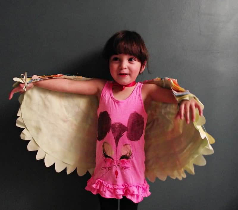 Save  sc 1 st  Pretty Prudent & How to Make Beautiful Dress Up Wings | Pretty Prudent