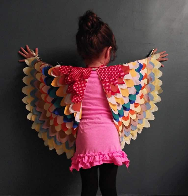 How to Make Beautiful Dress Up Wings