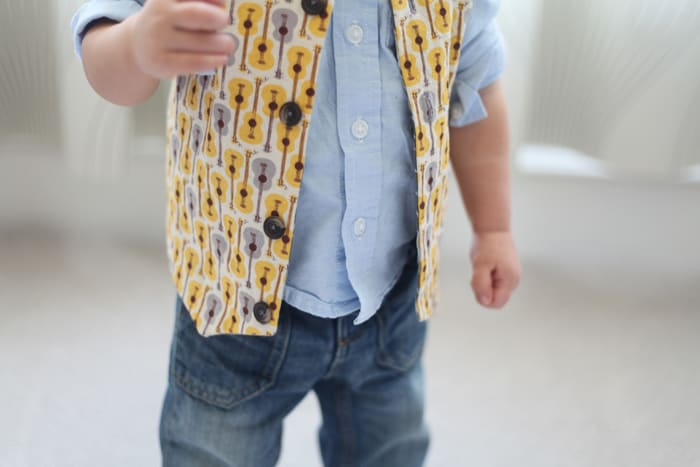 Reversible Baby Vest Tutorial w/ FREE Pattern | Pretty Prudent
