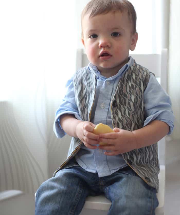 Reversible Baby Vest Tutorial W Free Pattern Pretty Prudent