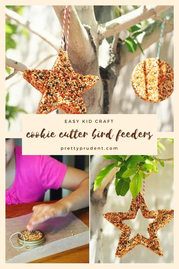 image of cookie cutter bird feeders