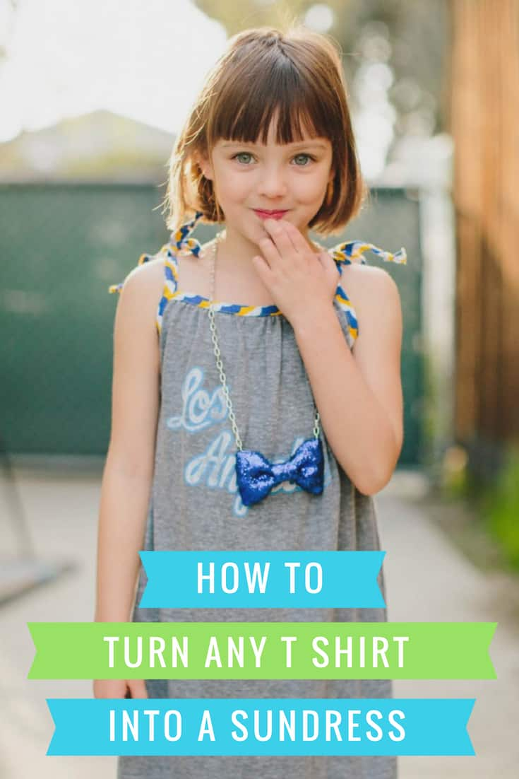 How to Sew a Sundress from a T Shirt