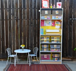 How to Build the Perfect Kids Craft Station