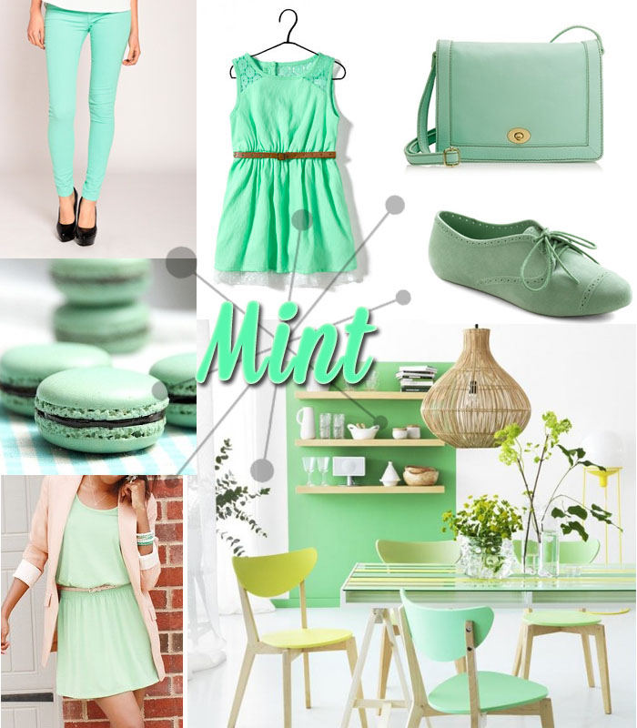 Mint Green Color color we love: mint green | pretty prudent