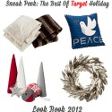 The Best of Target Holiday Look Book 2012- Home