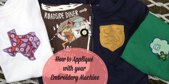 machine embroidery applique