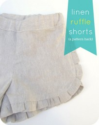 How to Sew Ruffle Shorts