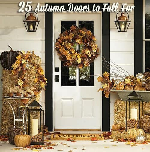 25 Autumn Doors to Fall For