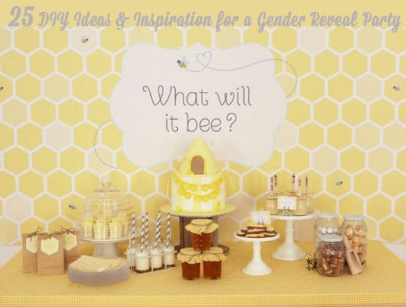 25 DIY Ideas for a Gender Reveal Party