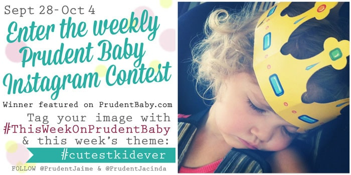 Prudent Baby instagram contest