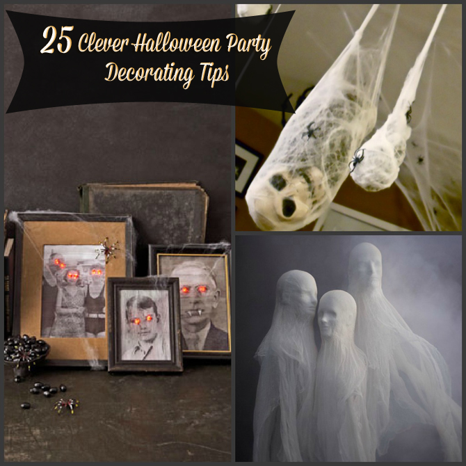 Halloween Party Planning: Treat Bags And Clever Decorating