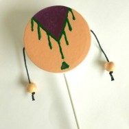 DIY Spin Drum Toy