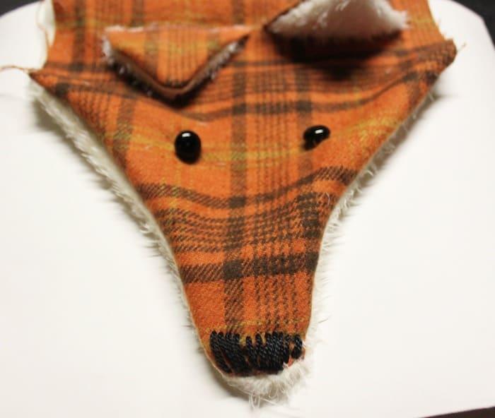 Diy Fox Scarf With Free Pattern Pretty Prudent