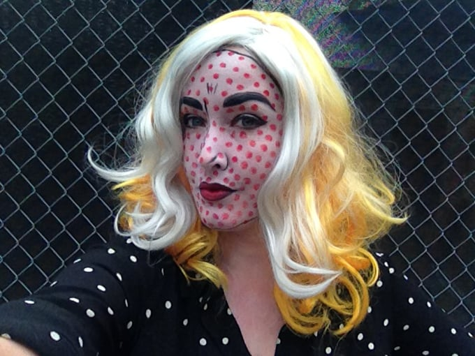 Roy Lichtenstein costume