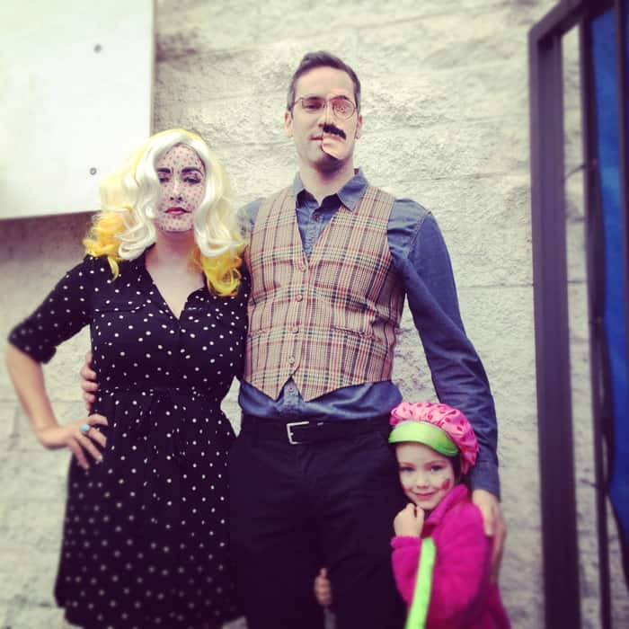 Roy Lichtenstein Richard Harrow Costume