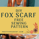 DIY Fox Scarf with Free Pattern!