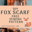 DIY Fox Scarf with Free Pattern
