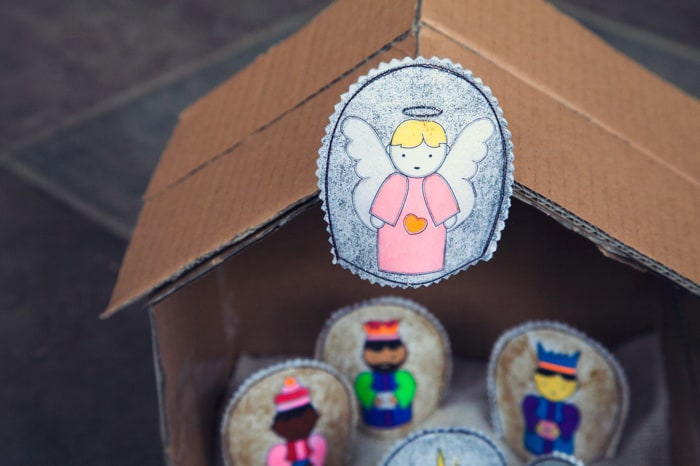 Free DIY Nativity printable