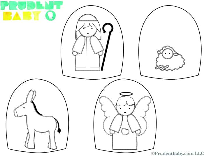 "... for ""Free Printable Nativity Scene Templates"" – Calendar 2015"