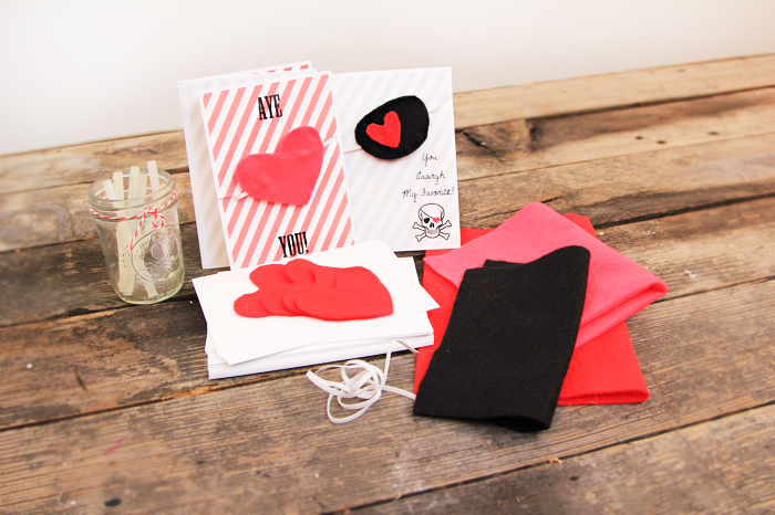 Easy & Awesome DIY Valentines: Pirate Patches for Your Best Mateys