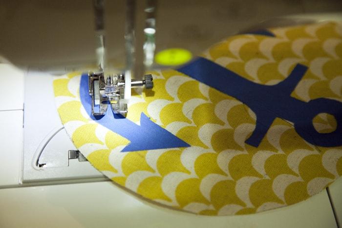 DIY Anchor Crinkle Toy