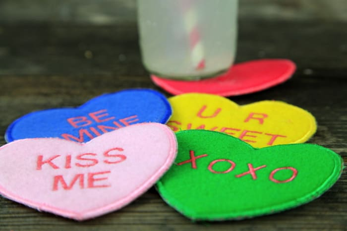sweetheart coasters