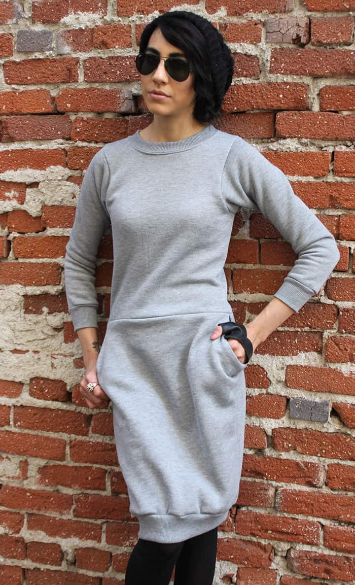 Hot Mess Sweatshirt Dress ⋆ Pretty Prudent