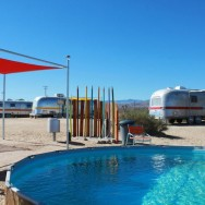 Airstream Getaways, Pioneertown, and Pool Parties: Friday I'm in Love