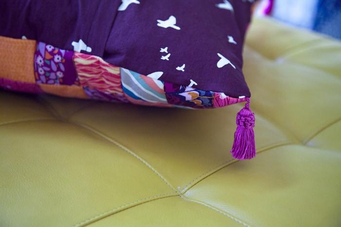 Scrappy Tripalong Floor Pillow