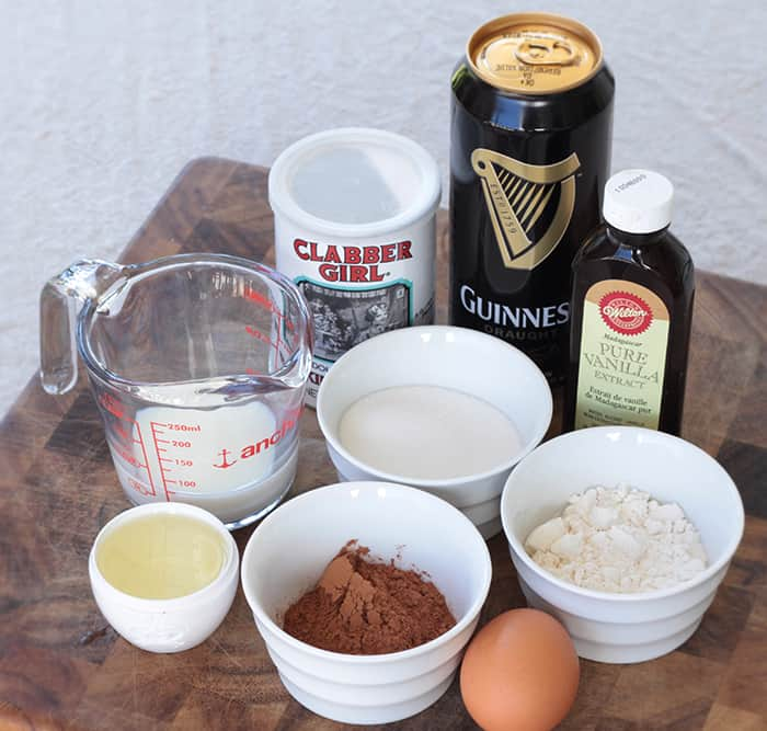 3 Minute Microwave Guinness Chocolate Cake in a Mug ⋆ Pretty Prudent