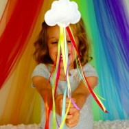 DIY No-Sew Rainbow Wands
