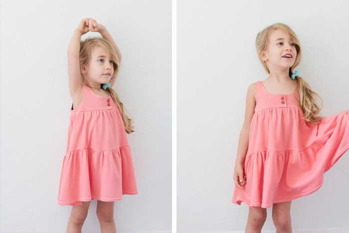 How To Sew A Jersey Knit Dress 2 Ways Free Pattern Pretty Prudent