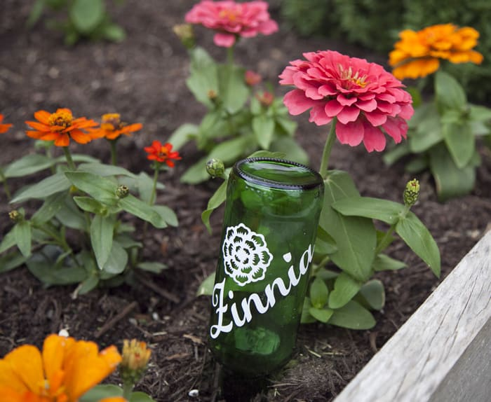 Silhouette Giveaway and Sale DIY Garden Markers