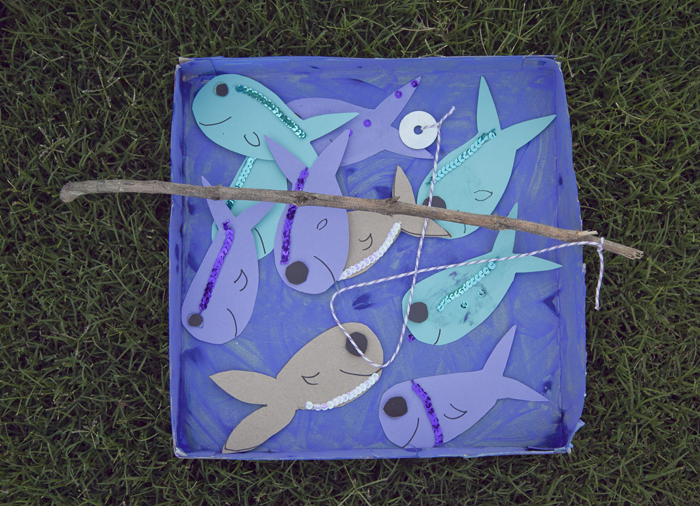 Annies Pizza Picnic Fishing Magnet Game