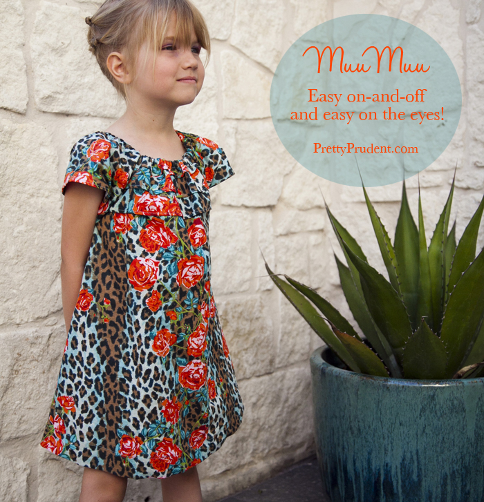Easy Summer MuuMuu: House-dress Tutorial and Free Pattern ...