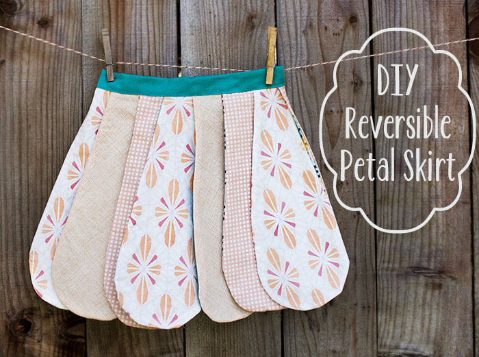 DIY Reversible Petal Skirt (Free Pattern) | Pretty Prudent