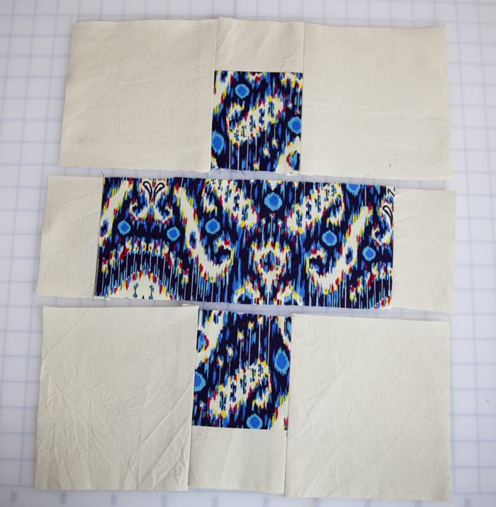 Plus Sign Quilt Square