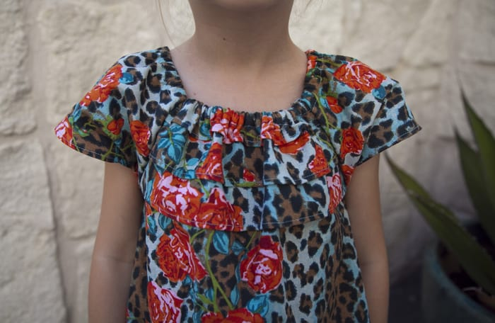 MuuMuu Easy Kid Dress Sewing Tutorial and Pattern