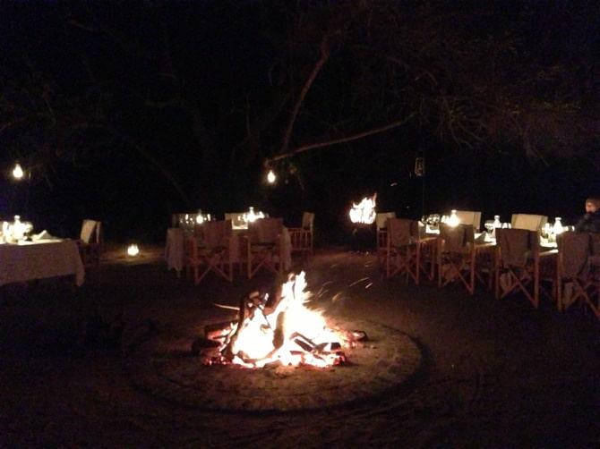 kapama south africa bush dinner