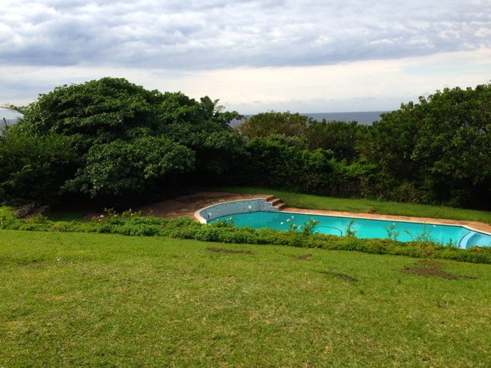 pool at botha house