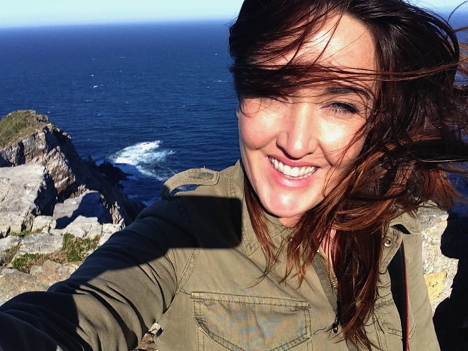 cape of good hope cape point selfie