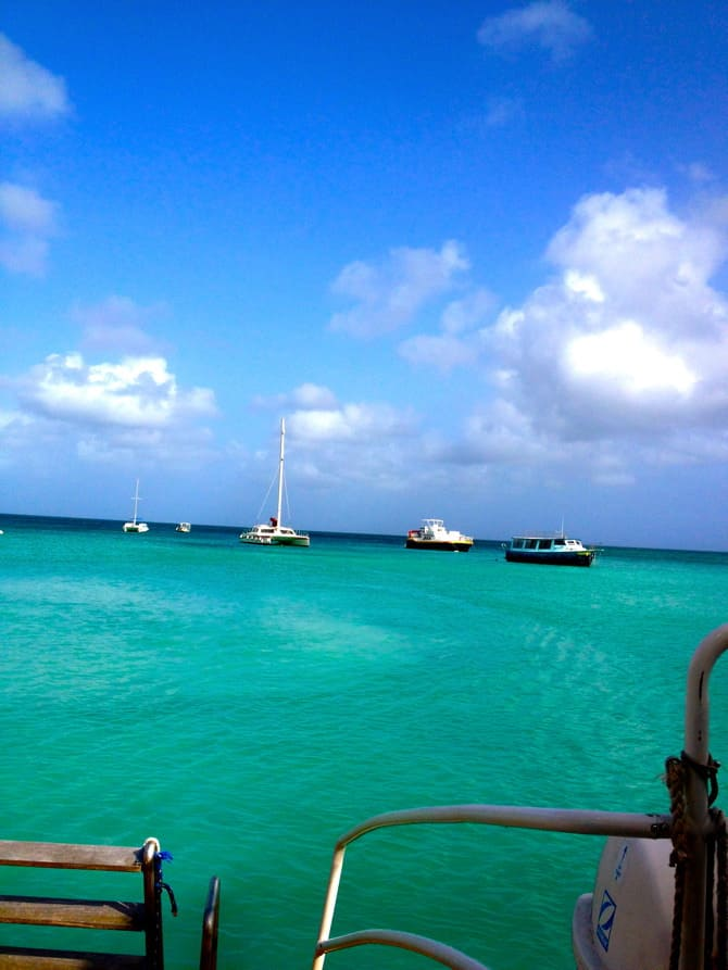 aruba blue waters