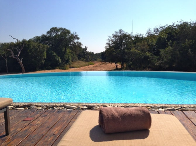 kapama river lodge pool