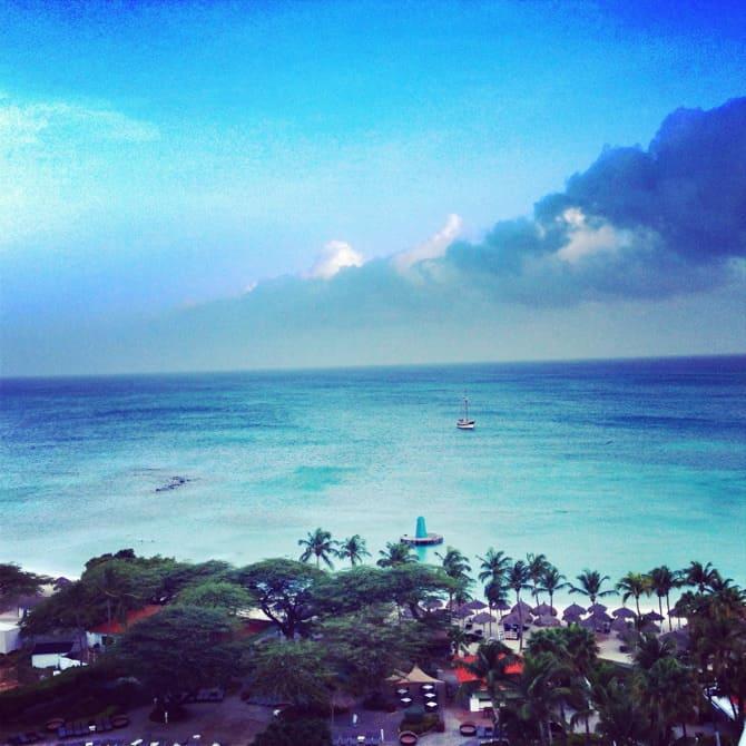 aruba vista from westin resort and hotel