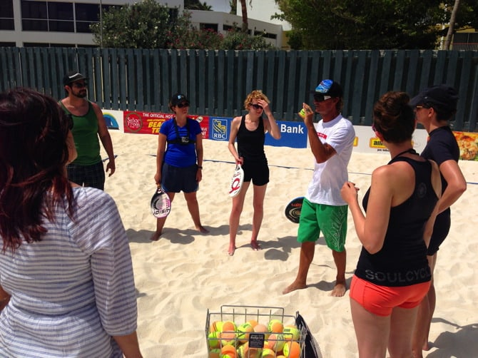 beach tennis lessons 2