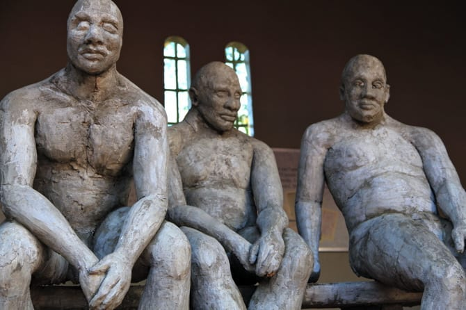 Kwa Muhle Museum sculpture, durban south africa