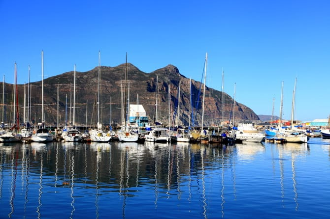 hout's bay boats
