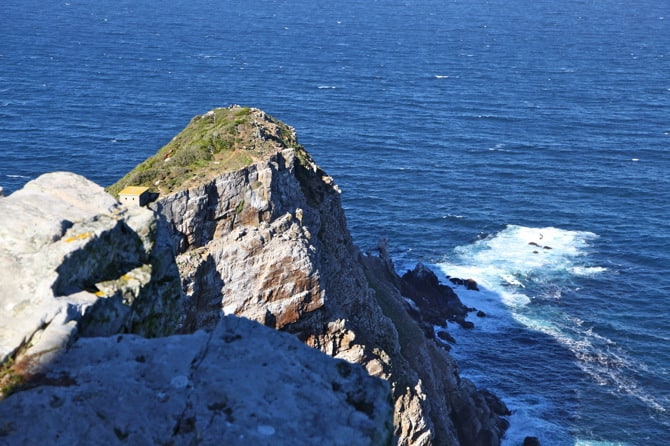 cape of good hope lowest point in africa